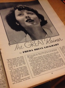 Film Weekly Summer 1937 article