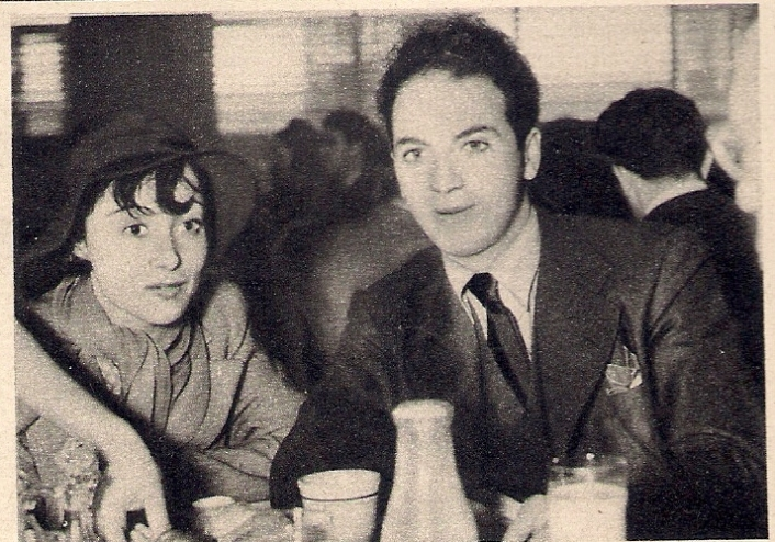 Luise Rainer and Clifford Odets