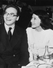 Luise with her first husband, the playwright Clifford Odets (c. 1938)