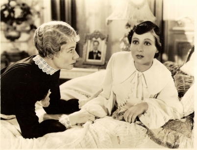 Marcelle Corday and Luise Rainer