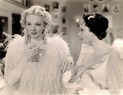 Virginia Bruce and Luise Rainer