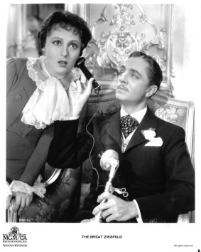 Luise Rainer and William Powell in an MGM publicity shot