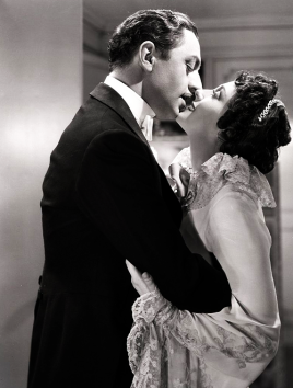 William Powell and Luise Rainer