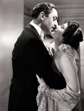 William Powell and Luise Rainer