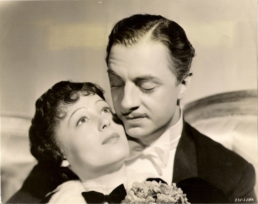 Luise Rainer and William Powell