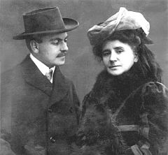 Gustav Lindemann and Louise Dumont