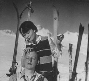 luise-and-boy-ski