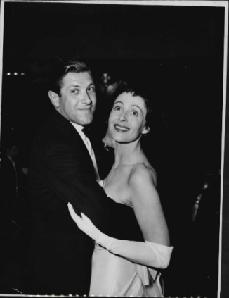 Luise Rainer - with Robert Knittel, April 1953