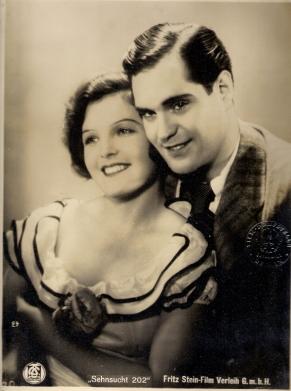 Magda Schneider and Rolf von Goth