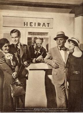 From left: Magda Schneider, Rolf von Goth, Hans Thimig, Fritz Schulz and Luise Rainer