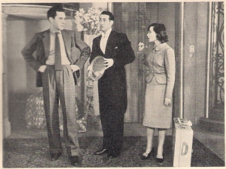 Griffith Jones, Jack Lambert and Luise Rainer in Behold the Bride (1939)