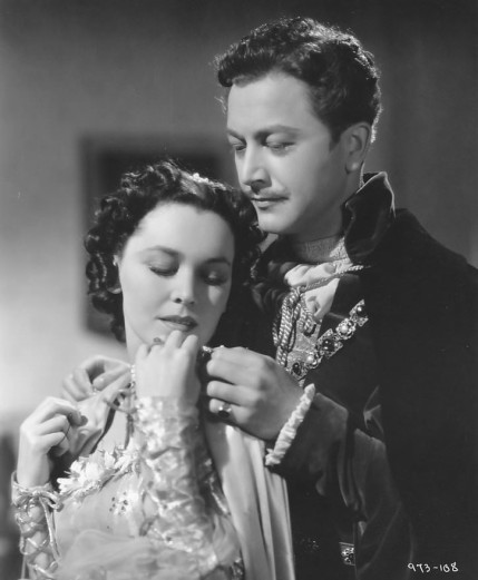 Maureen O'Sullivan and Robert Young in The Emperor's Candlesticks (1937)