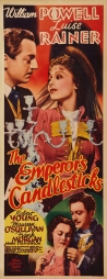 Poster for The Emperor's Candlesticks (1937)