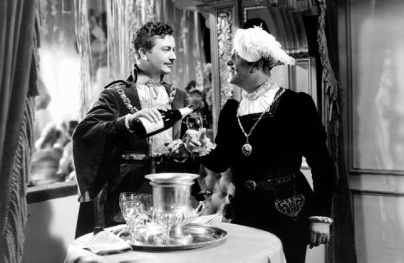 Robert Young and Frank Morgan in The Emprror's Candlesticks (1937)