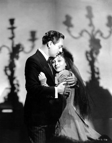 MGM publicity still of William Powell and Luise Rainer for The Emperor's Candlesticks (1937)