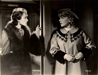 Luise Rainer and Bernadene Hayes in The Emperor's Candlesticks (1937)