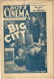 Big City on the cover of Boy's Cinema magazine (1937)