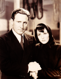 Spencer Tracy with Luise Rainer in Big City (1937)