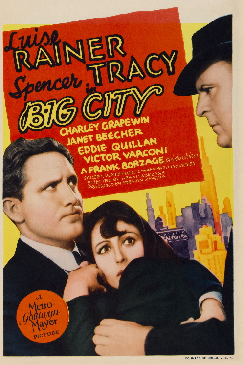 Poster for Big City (1937)