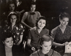 """LUISE RAINER REVEALS ALL THE HOPES... Of becoming a great actress in this scene for Metro-Goldwyn-Mayer's """"Dramatic School,"""" produced by Melvyn LeRoy and directed by Robert Sinclair."""