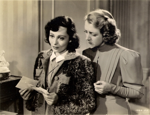 Luise Rainer and Marie Blake in Dramatic School (1938)