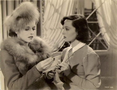 Paulette Goddard and Luise Rainer play rival acting students in Dramatic School (1938)