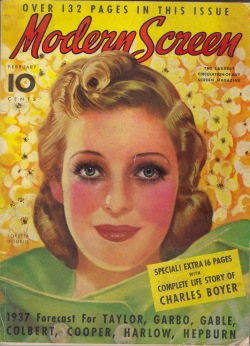 Modern Screen 1937