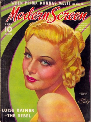 Modern Screen July 1937