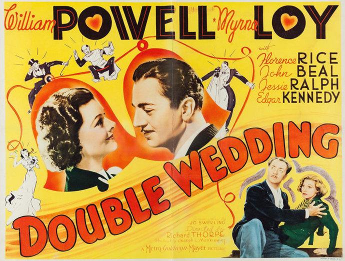Double Wedding 1937 Poster